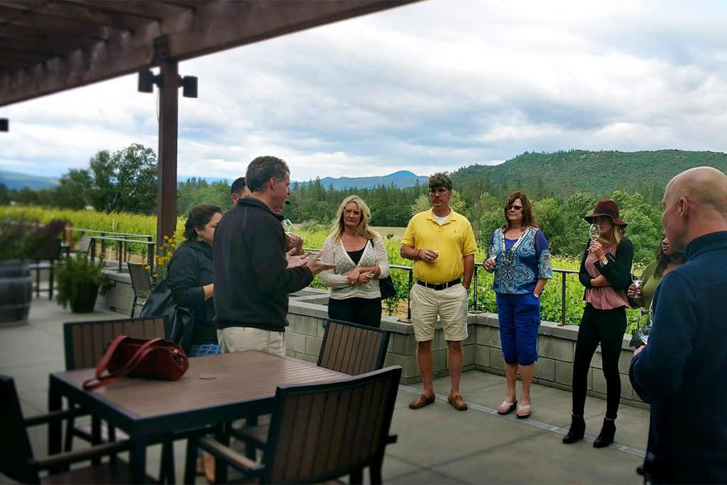 2Hawk Vineyard and Winery Staff Wine Tasting