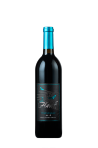 2Hawk Vineyard and Winery Bottle of 2016 Tempranillo