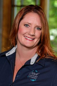 2Hawk Vineyard and Winery Co-Owner Jen Allen