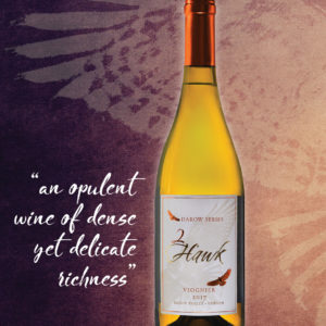 2Hawk Darow Series 2017 Viognier Wine