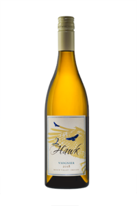 2Hawk Vineyard and Winery Bottle of 2018 Viognier