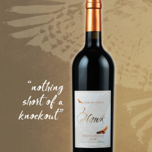2Hawk Vineyard and Winery 2016 Darow Series Tempranillo