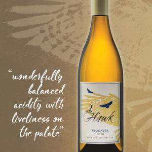2Hawk Vineyard and Winery 2018 Viognier
