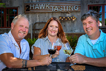 2Hawk Vineyard and Winery Team