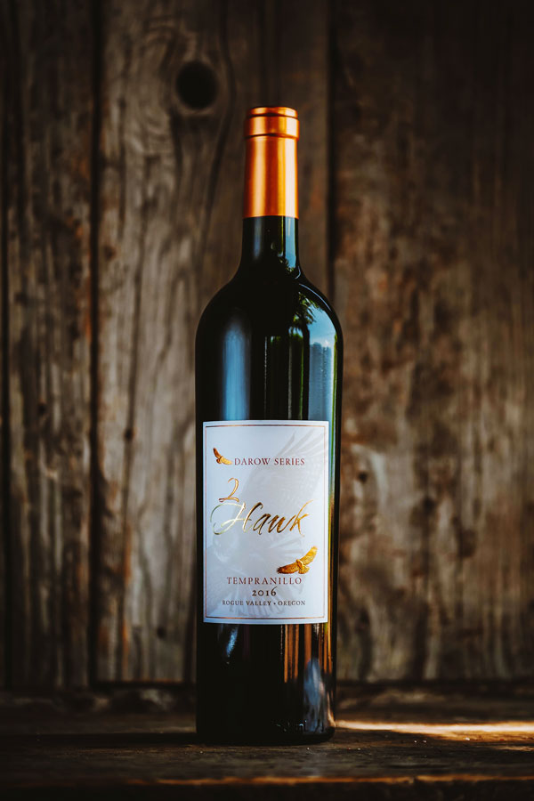 2Hawk Vineyard and Winery 2016 Darow Series Tempranillo