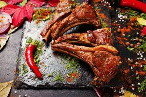 Grilled Rack of Lamb with Salbitxada Recipe